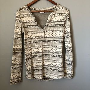 Columbia Nordic Fair Isle Long Sleeve shirt